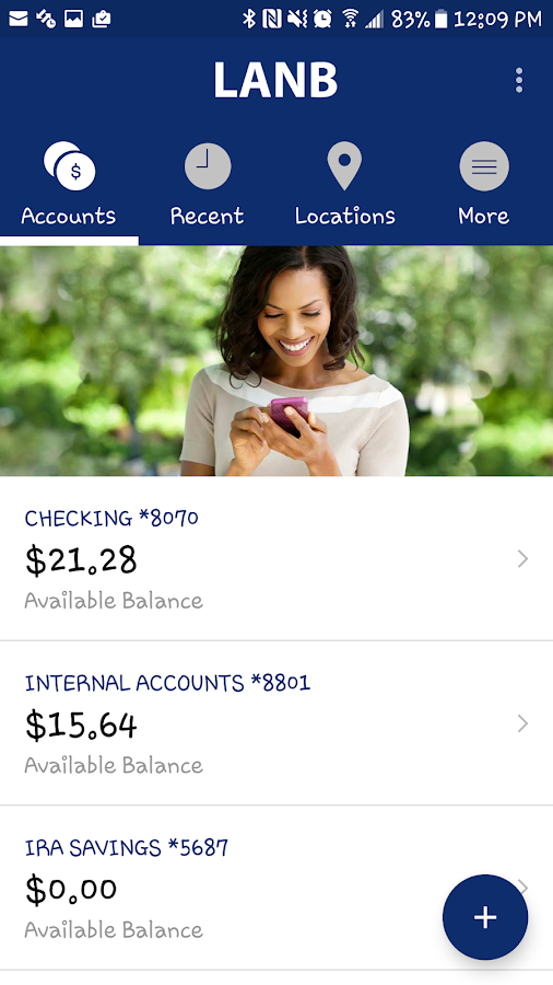 LANB Mobile Banking- screenshot
