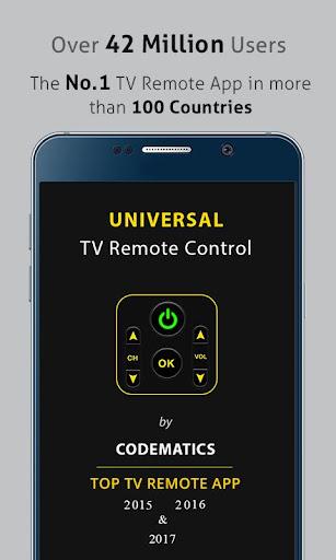 Universal TV Remote Control  screenshots 1