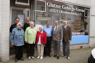 Photo: Vorstand des Glatzer Gebirgs-Vereins