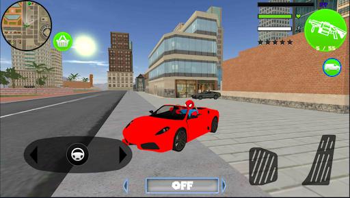Spider StickMan Rope Hero Mafia Gangster Vegas screenshot 2