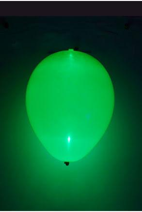 LED-ballong, grön 5st