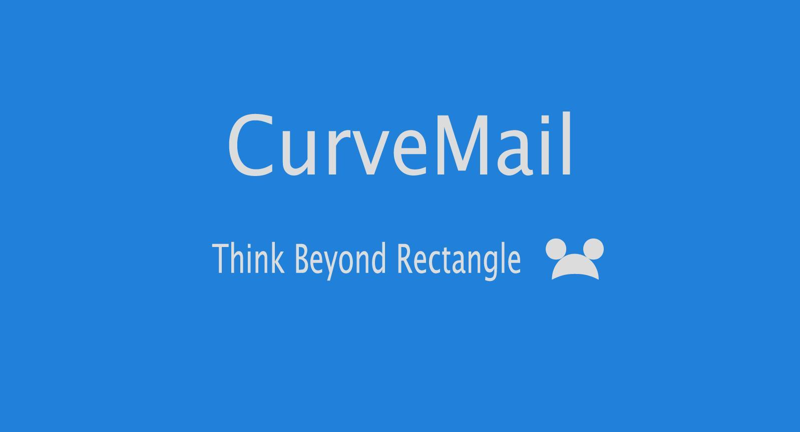 CurveMail- screenshot