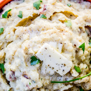 Slow Cooker Buttermilk Mashed Potatoes