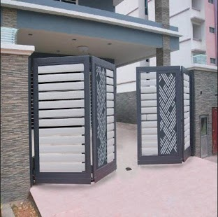 folding gate design  screenshot thumbnail. folding gate design   Android Apps on Google Play