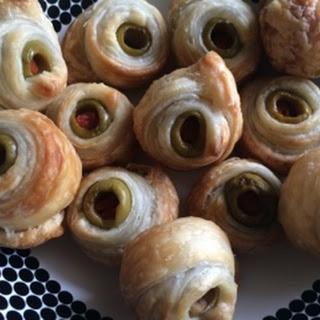 Olive Puff Pastry Bites.