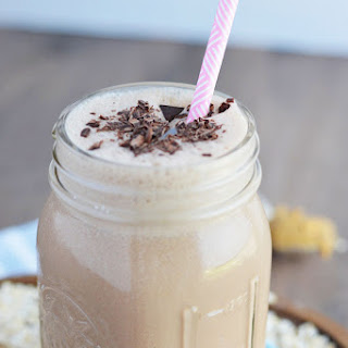 Chocolate Peanut Butter Oatmeal Smoothies.
