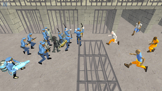 Battle Simulator: Prison & Police  Apk Download For Android and Iphone 3