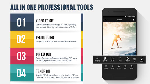 GIFShop Pro -GIF Maker, video to GIF, GIF Editor v8.3 [Paid]