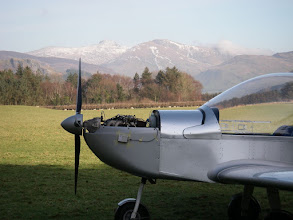 "Photo: Here's a nice composition: ""Cader Idris with Eurostar and PB-3""."