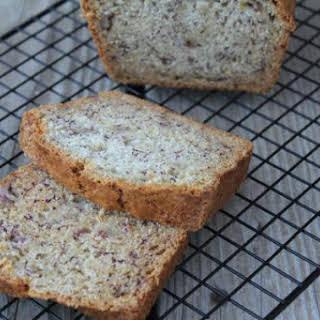 Gluten Free Dairy Free Banana Bread.