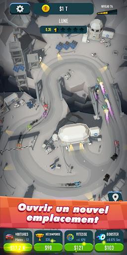 Code Triche Idle Race Rider u2014 Car tycoon simulator APK MOD screenshots 2