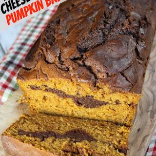 Nutella Cheesecake Pumpkin Bread