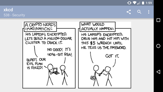 xkcd - because it's there - Apps en Google Play