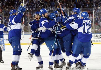 NHL : Toronto s'impose dans la douleur face à Detroit