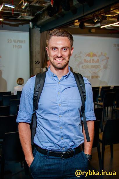 Viacheslav Sukhomlynov - Ironman. Голова представництва David Allen Company та єдиний сертифікований тренер з методології GTD (Getting Things Done) в Україні. Співзасновник LIVE.LOVE.
