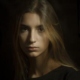 *** by Valentyn Kolesnyk - People Portraits of Women