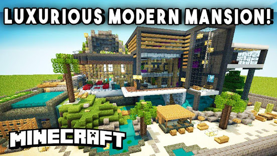 Modern House Maps For Minecraft Applications Sur Google Play