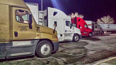 Photo: Lined up for the night