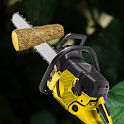 chainsaw simulator– chainsaw sounds icon