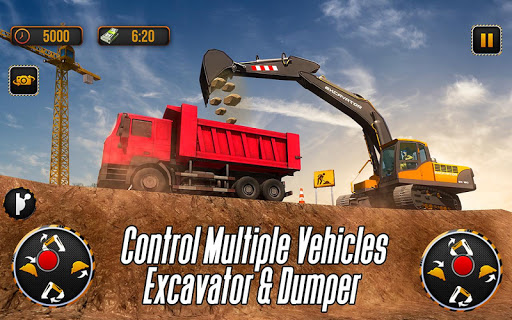 Download City Heavy Excavator: Construction Crane Pro 2018 on PC
