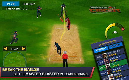 World of Cricket  captures d'écran 2