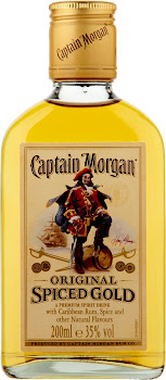 Captain Morgan Original Spiced Gold Rum - 200ml