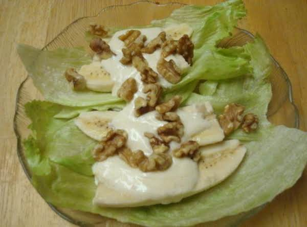 Miss Betty's Banana Nut Salad Recipe