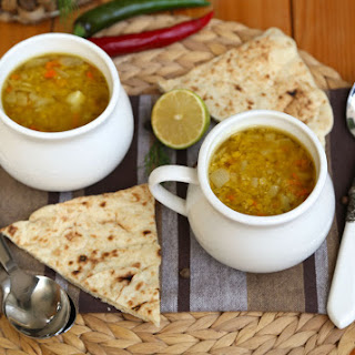 Middle Eastern Slow Cooker Lentil Soup