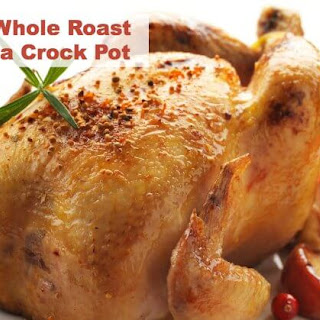 The Best Whole Roast Chicken Slow Cooker Recipe