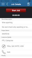 Screenshot of JobsTrac - Job Dispatch