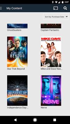 Cineplex Store - screenshot