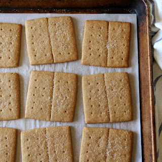Homemade Honey Graham Crackers