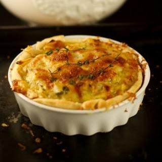 Tarte á l'Oignon – French Onion Tart.