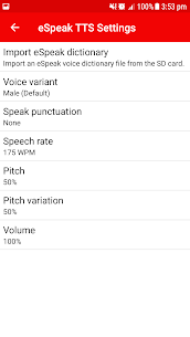 eSpeak NG – with emoticons support 2.5.2 Mod + Data for Android 2