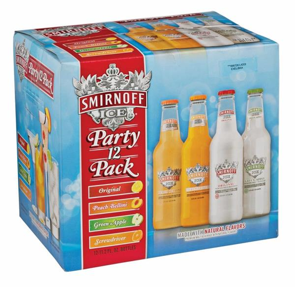 Logo of Smirnoff 12 Packs
