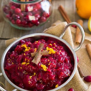 5 Ingredient Slow Cooker Cranberry Sauce.