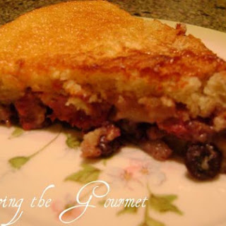 Living The Gourmet Berry Pudding Cake