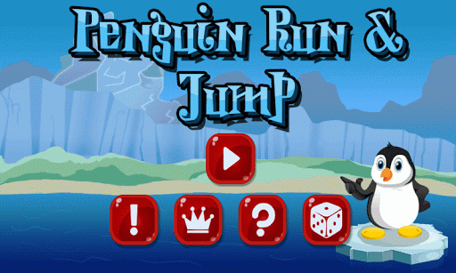 Penguin Run and Jump