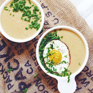Creamy Potato and Cauliflower Soup