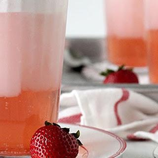 Strawberry Soda Floats