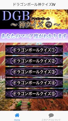 神クイズⅣ forドラゴンボール