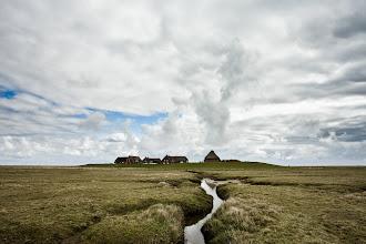 Photo: Blick auf die Warften