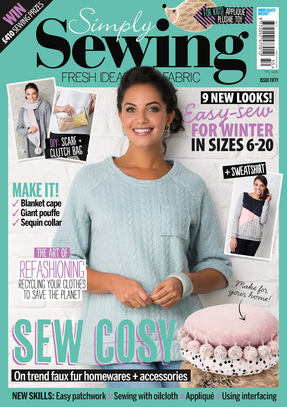 Simply Sewing Issue 50 Cover