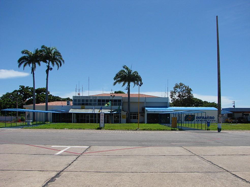 Aeroporto Orlando Bezerra, em Juazeiro do Norte (Foto: Infraero/Divulgação)