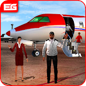 Tourist Transporter Airplane Flight Simulator 2018