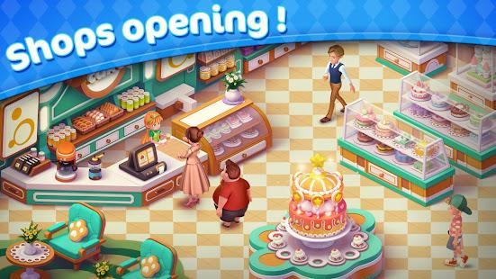 Jellipop Match-Decorate your dream town!