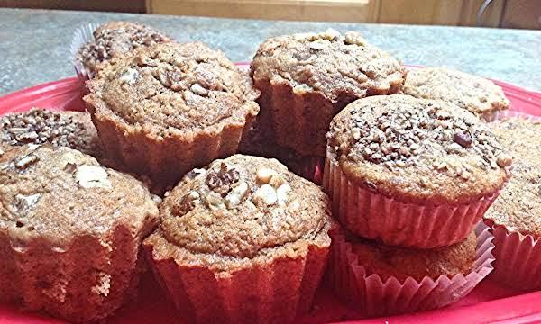 Loaded Cinnamon Raisin Banana Nut Muffins Recipe