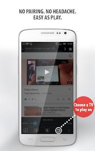 Tubio vdeos da web na tv chromecast airplay apps no google play imagem da captura de tela ccuart Images