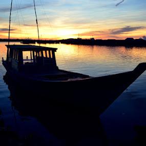 by Pras Manan - Transportation Boats