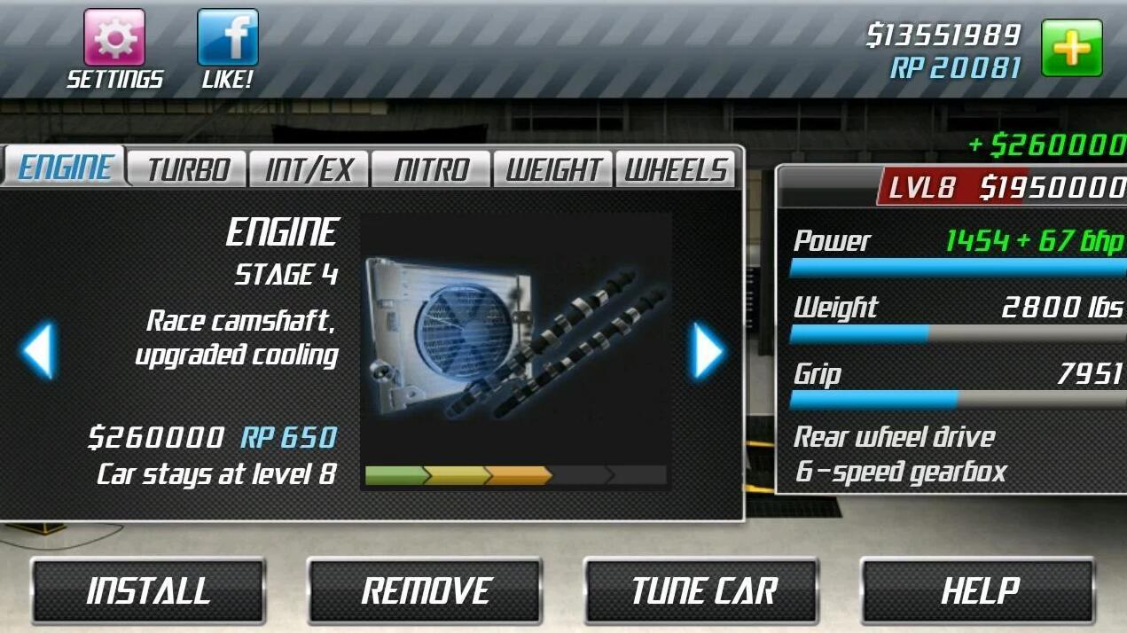 Drag Racing Mod Apk (Unlimited Money) Unlocked All Car Latest Version 5